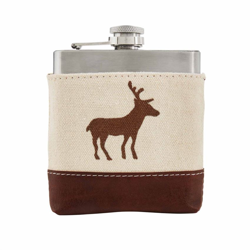 Deer Body Flask
