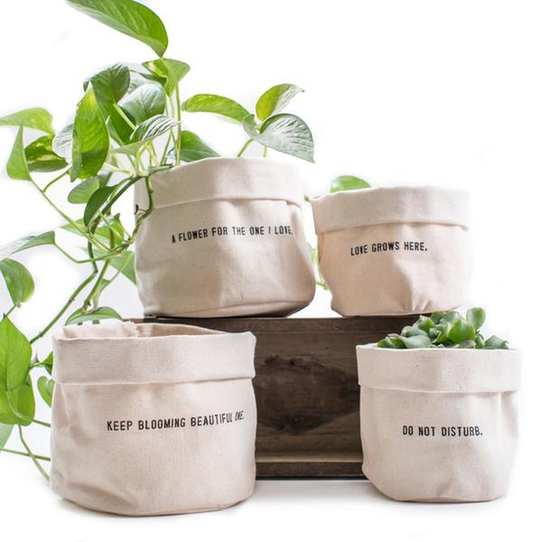 Canvas Planter Bags