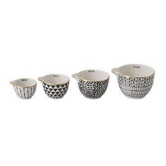 Stoneware Measuring Cups Set
