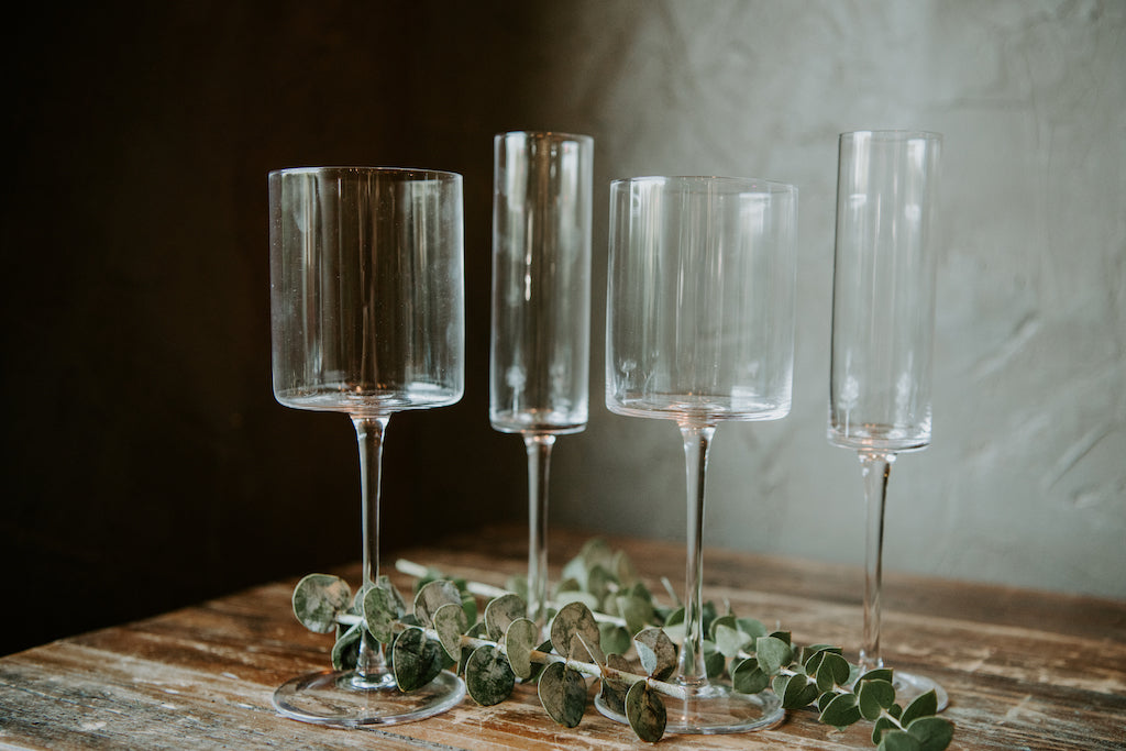 Modern Cylinder Glasses (3 sizes)