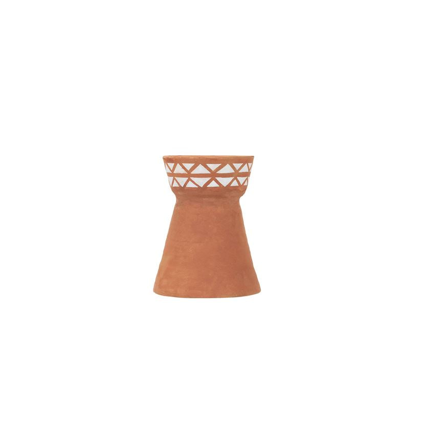 Terra Cotta Candle Holder