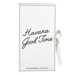 Havana Good Time Barware Set