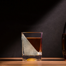 Load image into Gallery viewer, Corkcicle Whiskey Wedge Glass