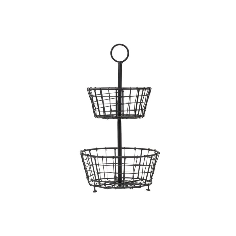 Tiered Metal Baskets