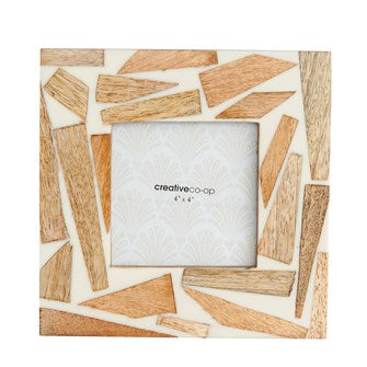 Wood & Resin Photo Frame