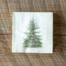 Load image into Gallery viewer, Fir Tree Paper Napkins (2 Sizes)