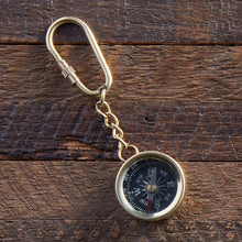 Load image into Gallery viewer, Compass Keychain