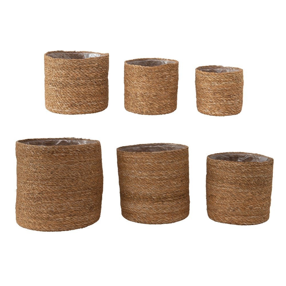 Hand-Woven Seagrass Baskets (6 Sizes)