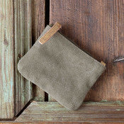 Canvas Coin Pouch
