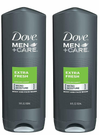Dove Men+Care Body And Face Wash 18oz, Extra Fresh - 2 Pack
