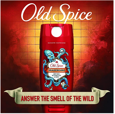 Old Spice Wild Collection Krakengard  Scent Bodywash - 21 fl. oz.