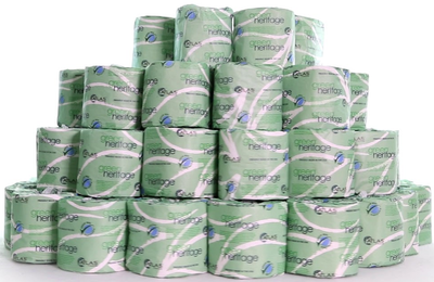 Box of 96 Rolls - 2 Ply Toilet Tissue Paper