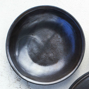 Metallic Black - Breakfast Bowl