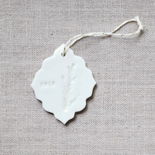 NEW: Botanical Ornament – Scalloped Juniper
