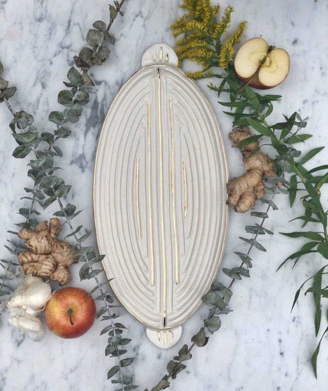 Carved Platters: Medium Empire Platter