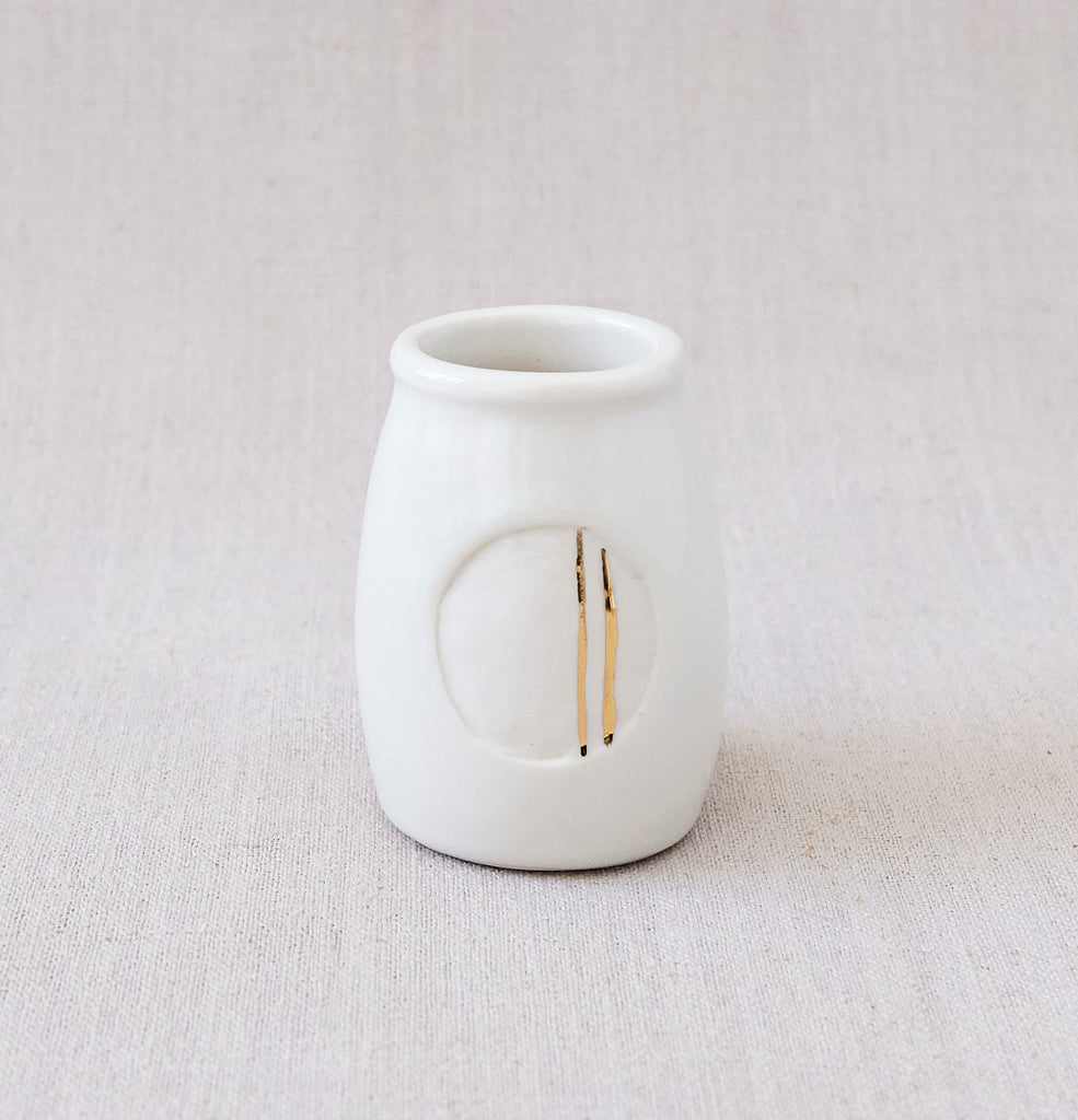 The Milk Jar Vase