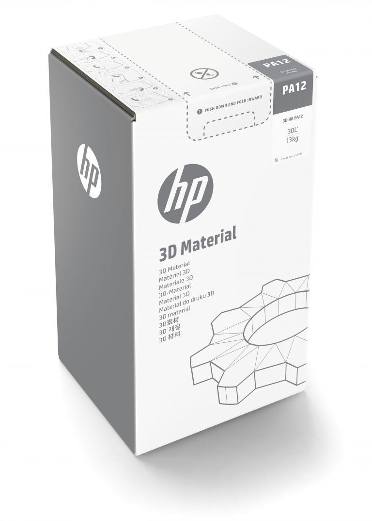 HP 3D HR PA12 Glass Bead 300L/150Kg