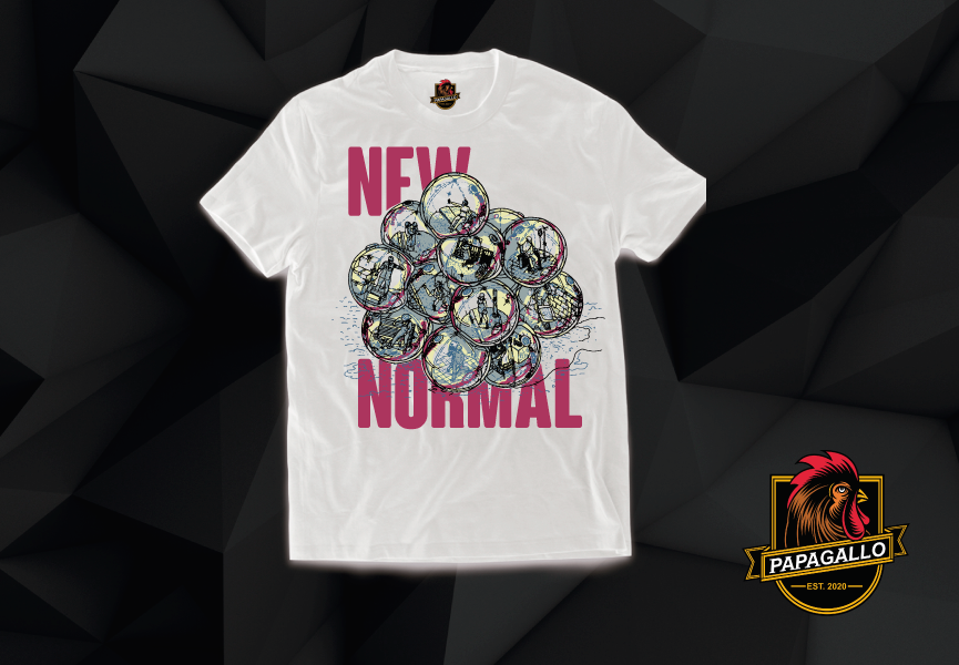 PLAYERA NEW NORMAL