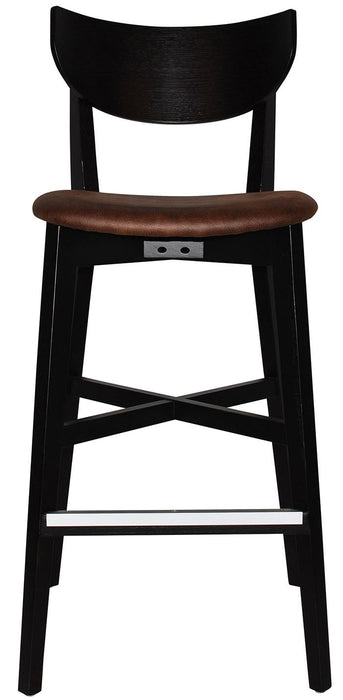 STOOL RIALTO (UPHOLSTERED SEAT)