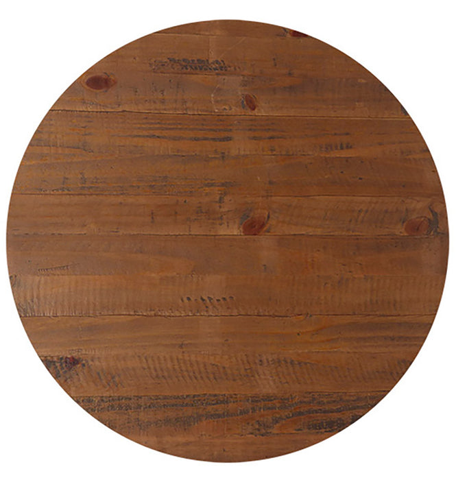 TOP TABLE TIMBER (ROUND)