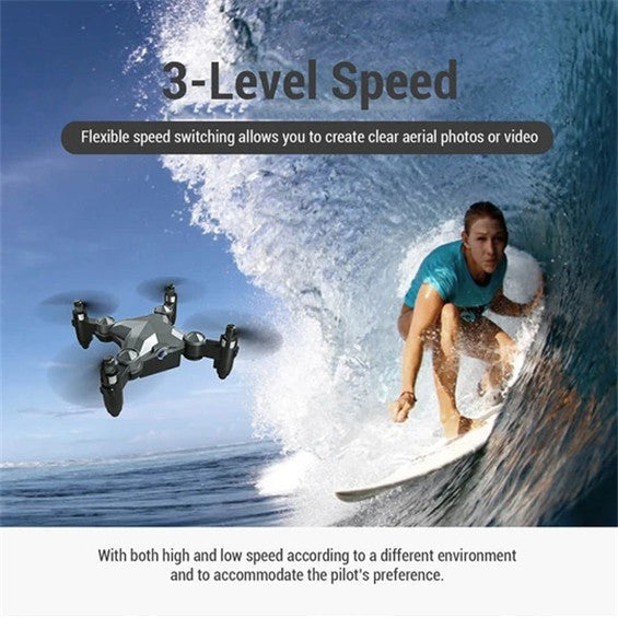 Foldable Mini Suitcase Drone With HD Camera【Father's Day Promotion】