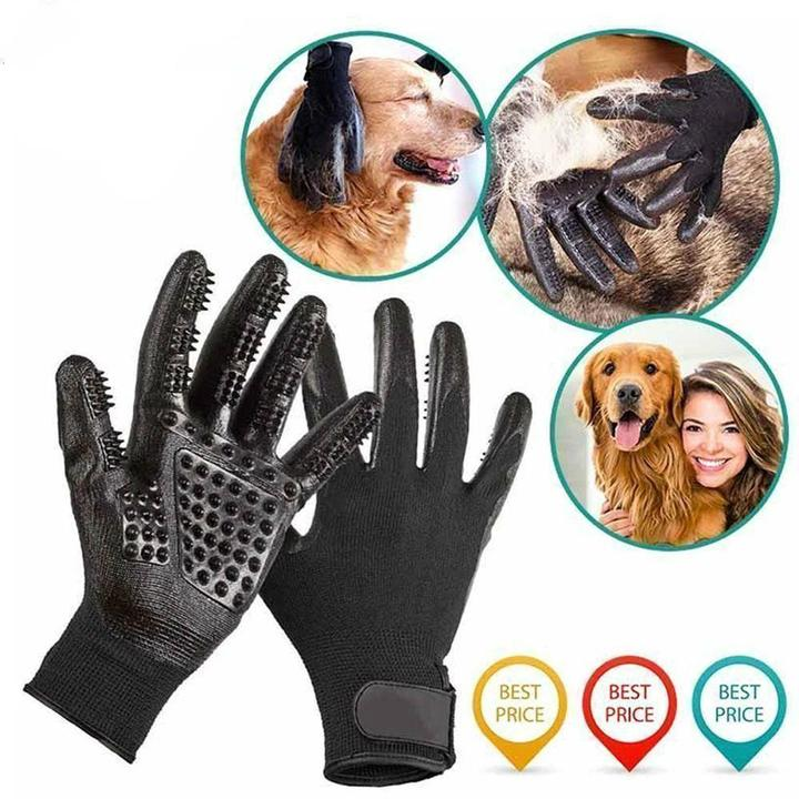 (40% OFF)Pet Grooming Gloves