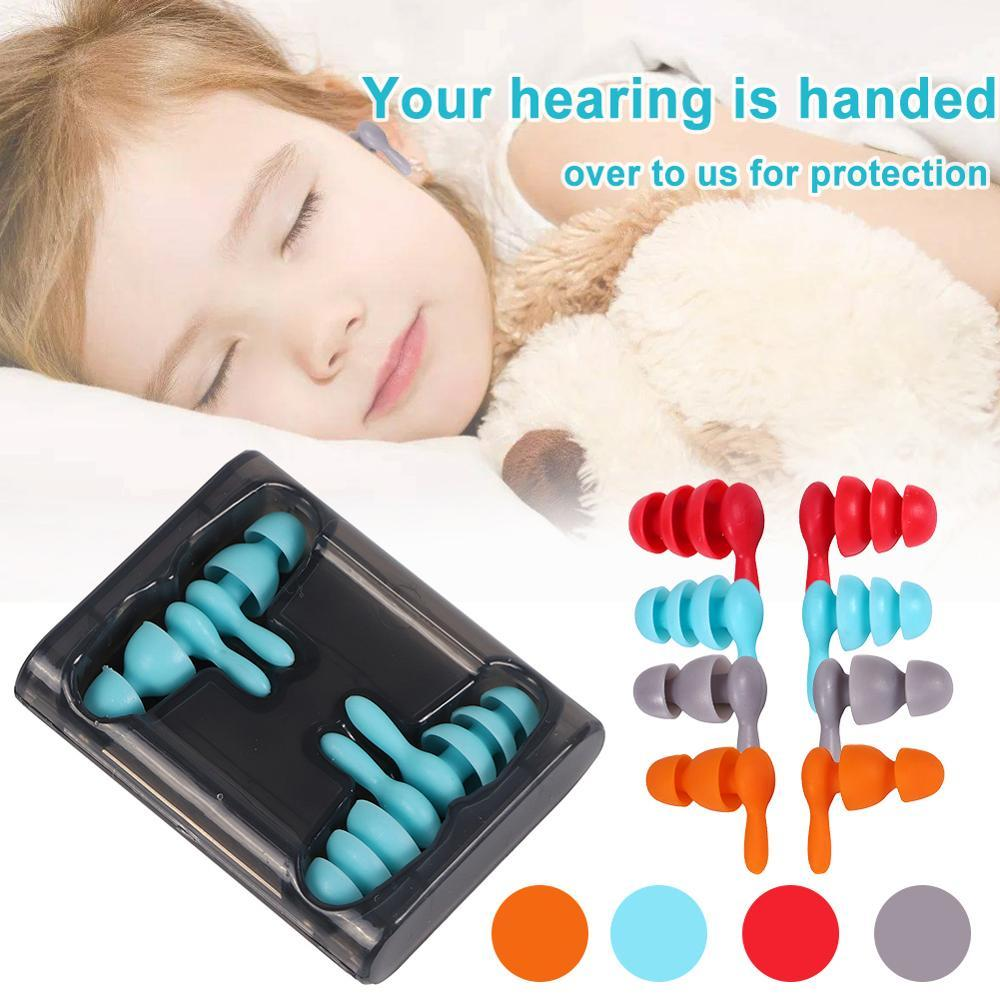 (40%OFF Today!!)Noise Cancelling Ear Plugs- 2 Pairs (Medium & Large)