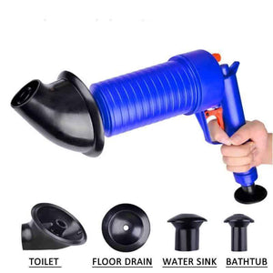 Drain Blaster-Instantly Unclogs Sinks and Toilets
