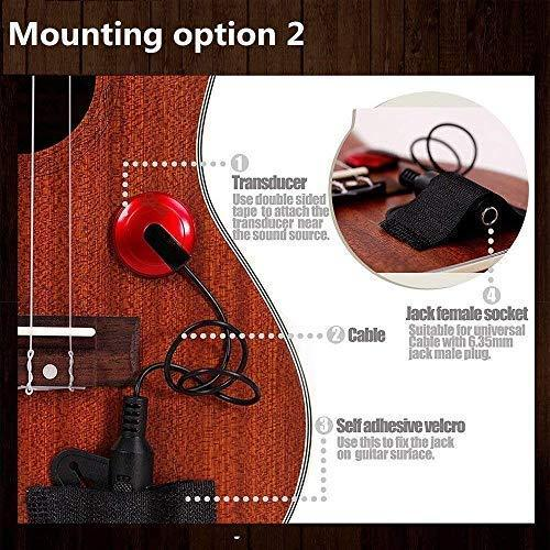 [Last Day Promotion]Acoustic Guitar Pick-Up(GET 2 PCS ROSEWOOD PICK FREE)