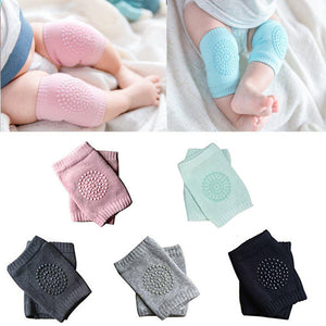 Baby Crawling Anti Slip Knee Pads Unisex Clothing Accessories Toddler Leg Warmer Safety Protective Cover Kneepads 5 Pairs ecocong