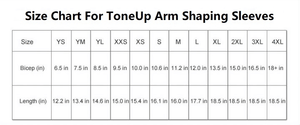【HOT SALE】ToneUp Arm Shaping Sleeves-Buy 2 Save $7