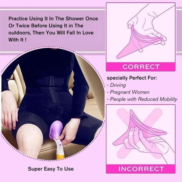 Reusable Squat-free Female Urinal-Buy 5 Free Shipping