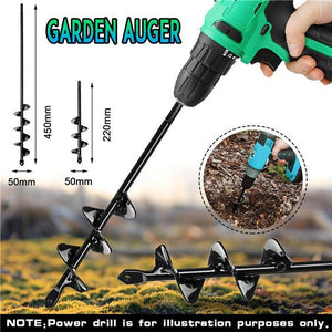 HOT SALE TODAY! Garden Spiral Drill Bit