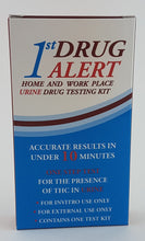 Load image into Gallery viewer, 1st ALERT - 1 PANEL URINE DRUG TEST KIT- Test for Marijuana (THC)