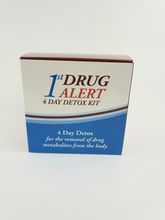 Load image into Gallery viewer, 1st ALERT - 4 DAY BODY DRUG DETOX KIT - PASS YOUR DRUG TEST
