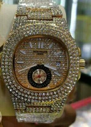 DIAMOND PATEK UNISEX WRISTWATCHES