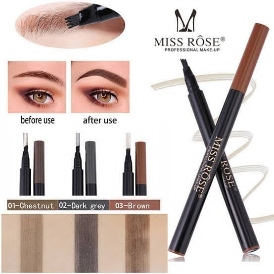 MISS ROSE 2-1 LIPS LINER & LIPSTICK