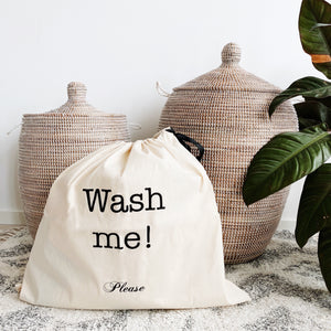 Large Wash Me Laundry Bag