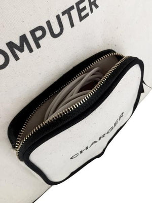 Computer Case - Charger Pocket Bag-all