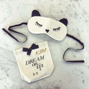 Sleeping Mask with Case - Add Your Initials