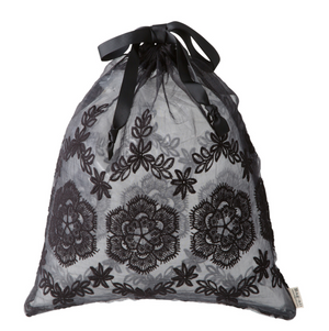 Lace Bag - Large Black