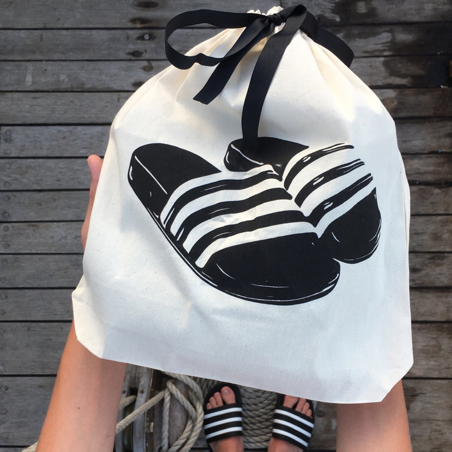 Slides Sandal Shoe Bag