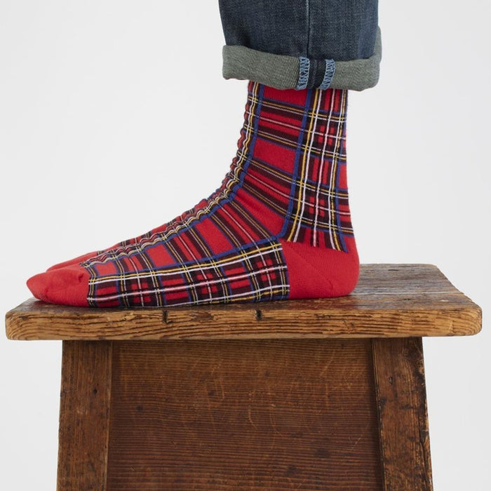 Men's Royal Stewart Tartan Cotton Socks