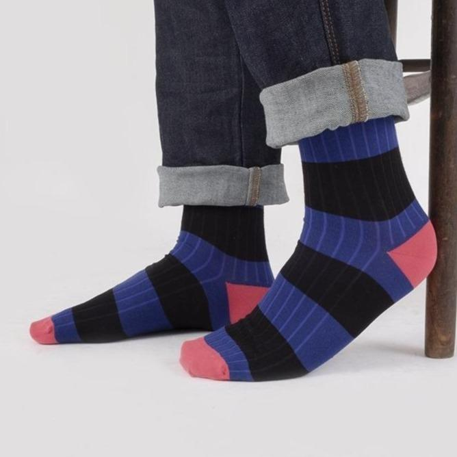 Men's Limited Edition Rugby Stripe Socks
