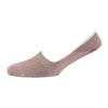 Women's Cable Mercerised Cotton Invisible Socks