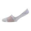 Women's Micro Stripe Mercerised Cotton Invisible Socks