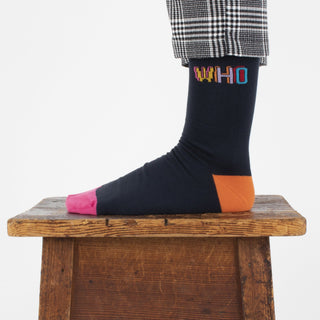 Women's Doctor Who 'Who' 2 Pair Gift Box
