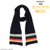 Doctor Who Striped Skinny Wool Scarf