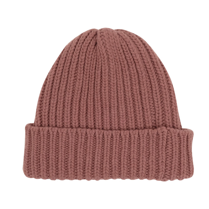 Women's Rib Knit Wool Beanie