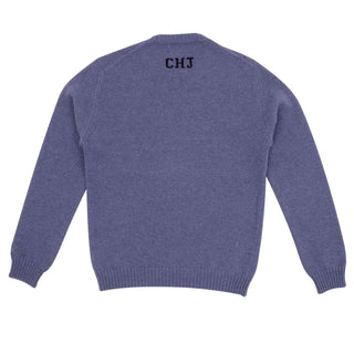 Men's Personalised Initial on Back Wool Sweater